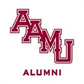 Alumni Decal-AAMU Stacked, 6 in W