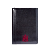Wall Street Black Junior Writing Pad-Official Logo