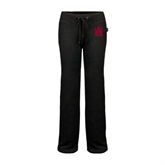 ENZA Ladies Black Fleece Pant-Official Logo