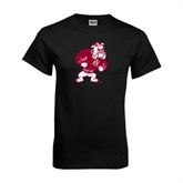 Black T Shirt-Bulldog