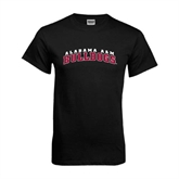 Black T Shirt-Alabama A&M Bulldogs Arched