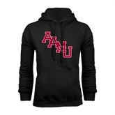 Black Fleece Hoodie-AAMU Stacked