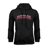 Black Fleece Hoodie-Alabama A&M Bulldogs Arched