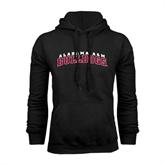 Black Fleece Hoodie-Alabama A&M Bulldogs Arched
