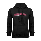 Black Fleece Hoodie-Alabama A&M University Arched
