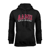 Black Fleece Hoodie-AAMU Bulldogs Arched