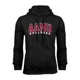 Black Fleece Hoodie-AAMU Bulldogs Arched