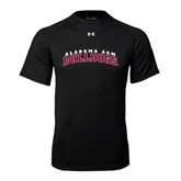 Under Armour Black Tech Tee-Alabama A&M Bulldogs Arched