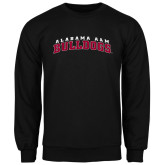 Black Fleece Crew-Alabama A&M Bulldogs Arched