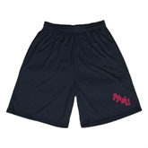 Performance Classic Black 9 Inch Short-AAMU Stacked