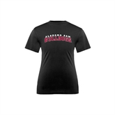 Youth Performance Black Tee-Alabama A&M Bulldogs Arched