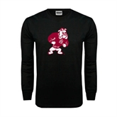 Black Long Sleeve TShirt-Bulldog