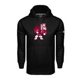 Under Armour Black Performance Sweats Team Hoodie-Bulldog