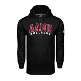 Under Armour Black Performance Sweats Team Hoodie-AAMU Bulldogs Arched