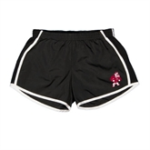 Ladies Black/White Team Short-Bulldog