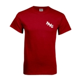 Cardinal T Shirt-AAMU Stacked