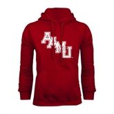 Cardinal Fleece Hoodie-AAMU Stacked