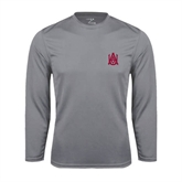 Syntrel Performance Steel Longsleeve Shirt-Official Logo