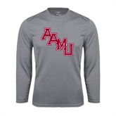 Performance Steel Longsleeve Shirt-AAMU Stacked
