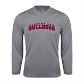 Syntrel Performance Steel Longsleeve Shirt-Alabama A&M Bulldogs Arched