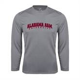 Syntrel Performance Steel Longsleeve Shirt-Alabama A&M University Arched