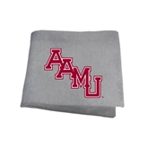 Grey Sweatshirt Blanket-AAMU Stacked