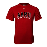 Under Armour Cardinal Tech Tee-AAMU Bulldogs Arched