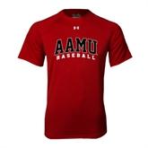 Under Armour Cardinal Tech Tee-Baseball