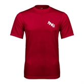 Performance Cardinal Tee-AAMU Stacked
