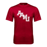 Syntrel Performance Cardinal Tee-AAMU Stacked