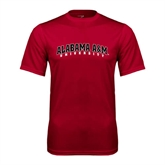 Syntrel Performance Cardinal Tee-Alabama A&M University Arched
