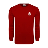 Cardinal Long Sleeve T Shirt-Official Logo