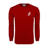Cardinal Long Sleeve T Shirt-Bulldog
