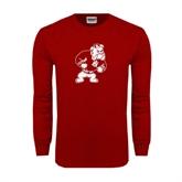 Cardinal Long Sleeve T Shirt-Bulldog