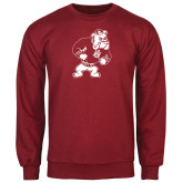 Cardinal Fleece Crew-Bulldog