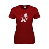 Ladies Cardinal T Shirt-Bulldog