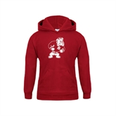 Youth Cardinal Fleece Hoodie-Bulldog