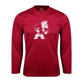 Syntrel Performance Cardinal Longsleeve Shirt-Bulldog