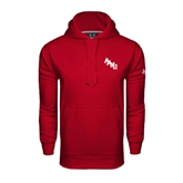 Under Armour Cardinal Performance Sweats Team Hoodie-AAMU Stacked