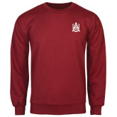 Cardinal Fleece Crew-Official Logo