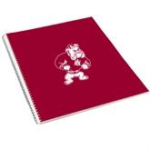 College Spiral Notebook w/Clear Coil-Bulldog
