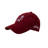 Cardinal Twill Unstructured Low Profile Hat-Bulldog
