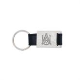 Leather Black Key Holder-Official Logo Engraved