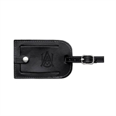 Millennium Leather Luggage Tag-Official Logo Engraved