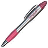 Silver/Pink Blossom Pen/Highlighter-Alabama A&M University