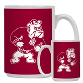 Full Color White Mug 15oz-Bulldog