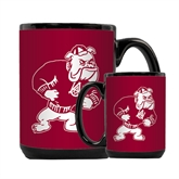 Full Color Black Mug 15oz-Bulldog