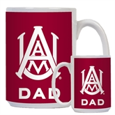 Dad Full Color White Mug 15oz-Official Logo