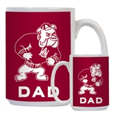 Dad Full Color White Mug 15oz-Bulldog