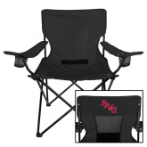 Deluxe Black Captains Chair-AAMU Stacked